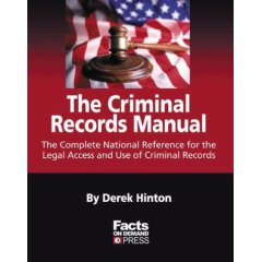 RARE BOOK! The Criminal Records Manual